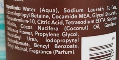 Shampoo - Ingredients - en