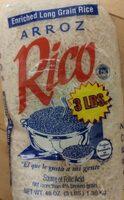 Enriched long grain rice - Product - en