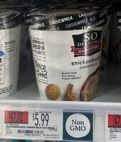 Snickerdoodle cashewmilk non-dairy frozen dessert, snickerdoodle - Product - en
