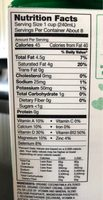 Organic Coconutmilk - Nutrition facts