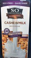 Unsweetened vanilla cashewmilk beverage - Produit - fr