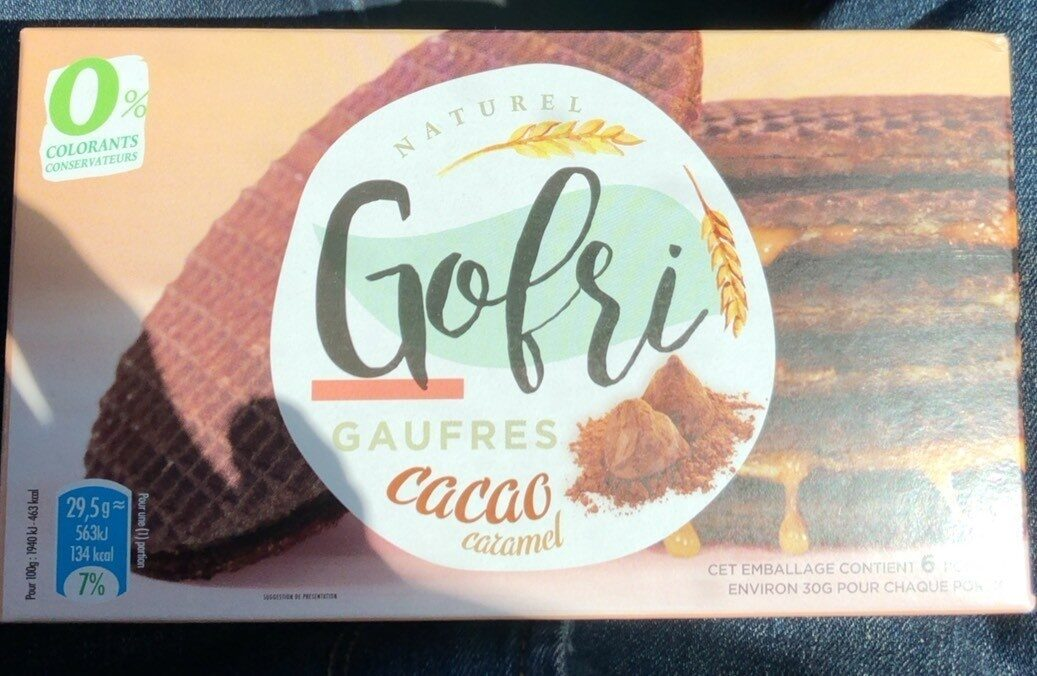 Gaufres cacao caramel - نتاج - fr