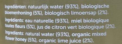 hny water - Ingrediënten - fr