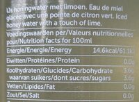 hny water - Informations nutritionnelles - fr