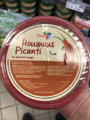 Houmous picanti au piment rouge - Product - fr