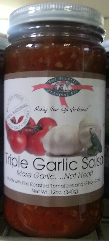 Triple Garlic Salsa - Product