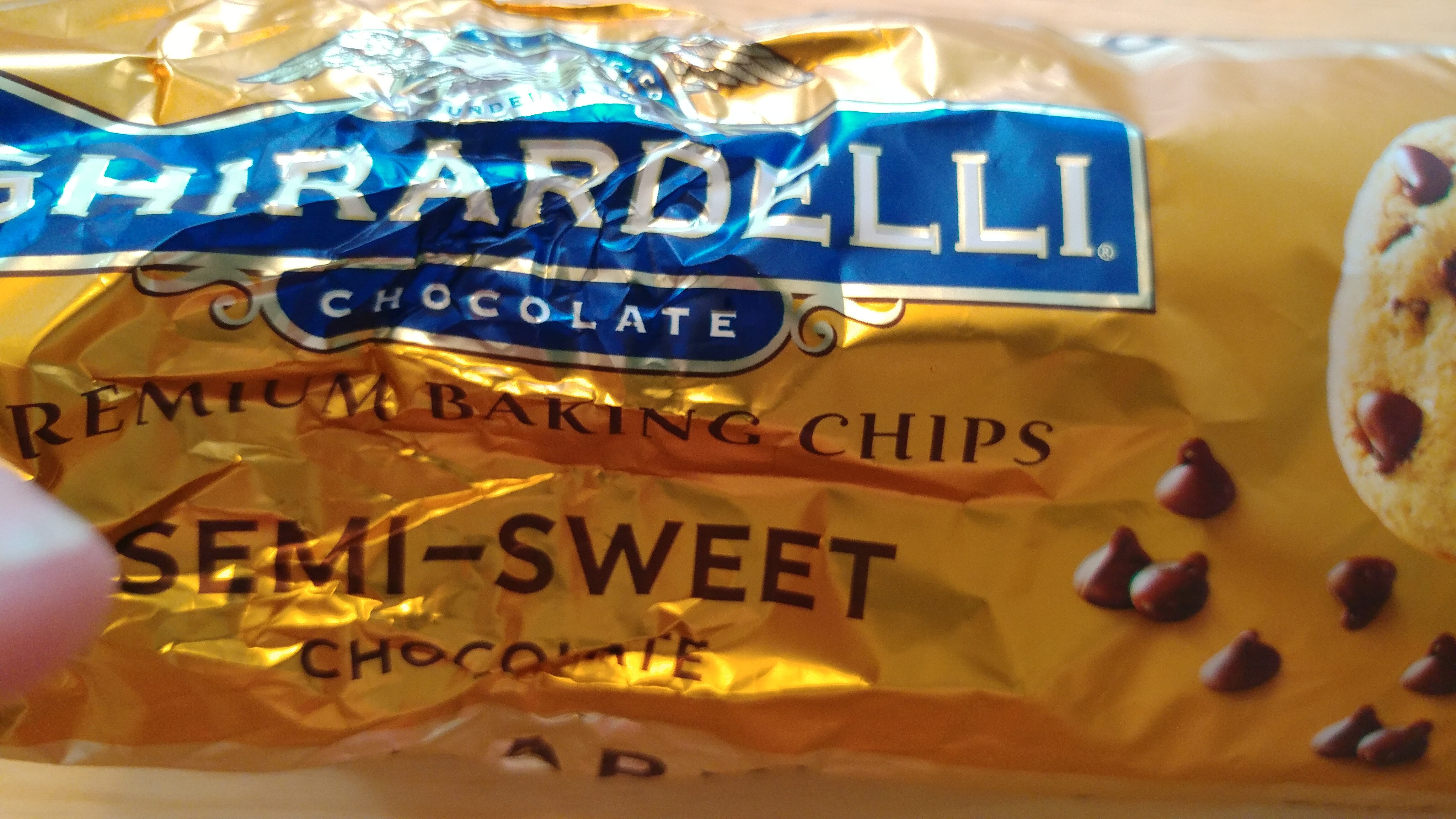 Premium Baking Chips, Semi-Sweet Chocolate - Product