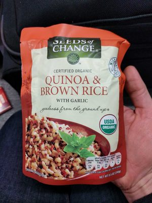 Quinoa & brown rice - Produit - fr