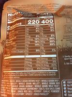 Seven Whole Grains - Nutrition facts
