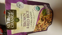 Organic brown & red rice with chia & kale, chia & kale - Product - en