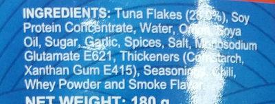 corned tuna - Ingrédients - en