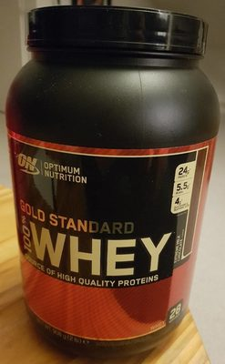 100% Whey Gold Standard 908G Extreme Milk Chocolat - Produit - fr