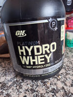 Optimum Nutrition Supercharged Strawberry Platinum Hydrowhey (3.5 lbs) - Product - fr