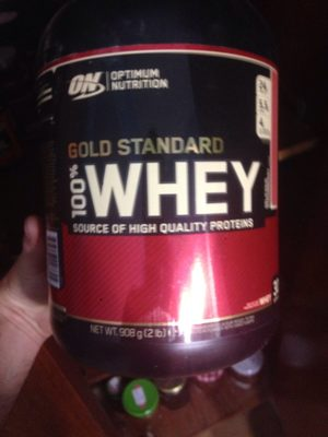 100 % Whey Gold Standard - 908 - Fraise - Product - fr
