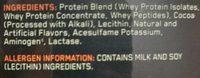 Optimum Nutrition 100% Gold Standard Whey - Ingrediënten