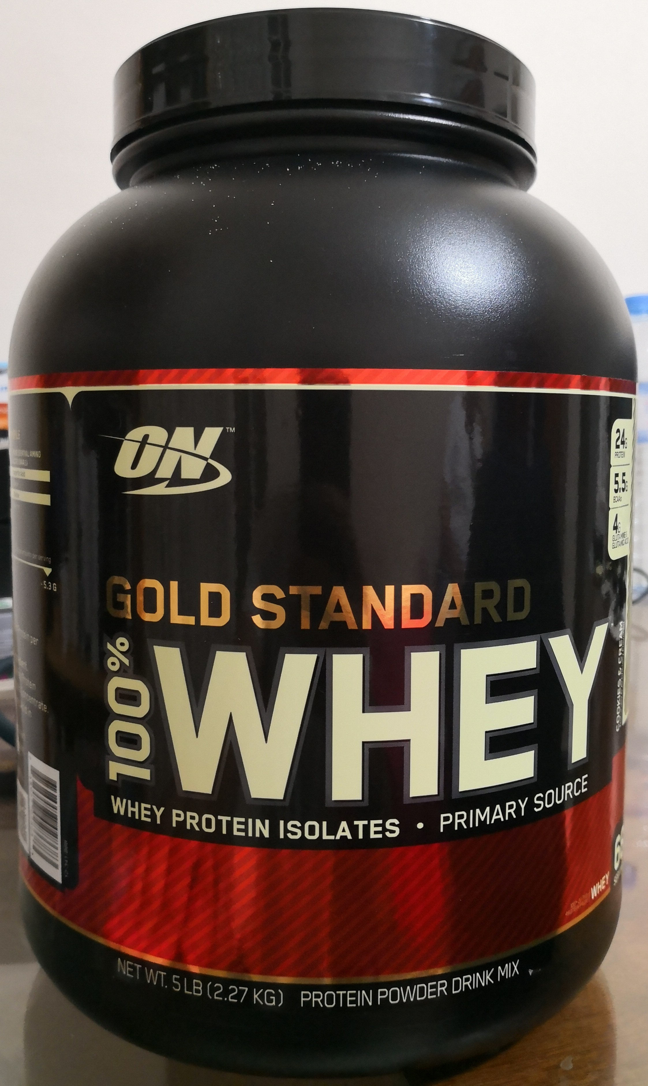 Whey Gold Standard 2 2 Kg Optimum Nutrition Parfum Cookies Cream