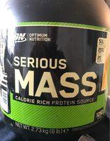 Serious Mass - Banane - 2727 - Product