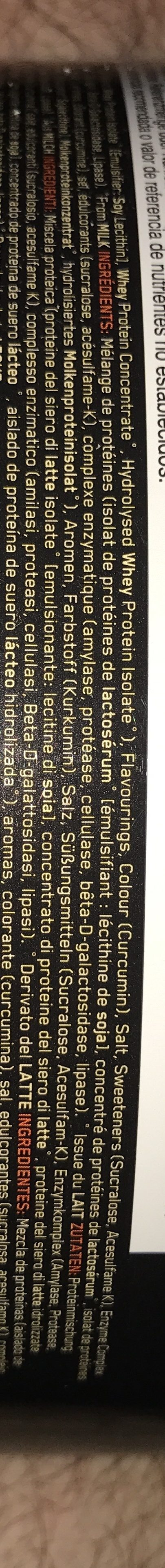 Whey Gold Standard (2,2 KG) Optimum Nutrition P? - Ingredients - en