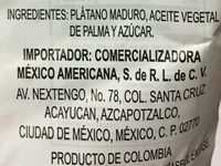 Chip plantain sweet - Ingrédients - es