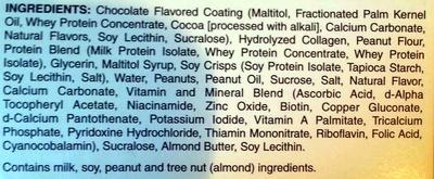 Pure Protein Bar - Ingredients
