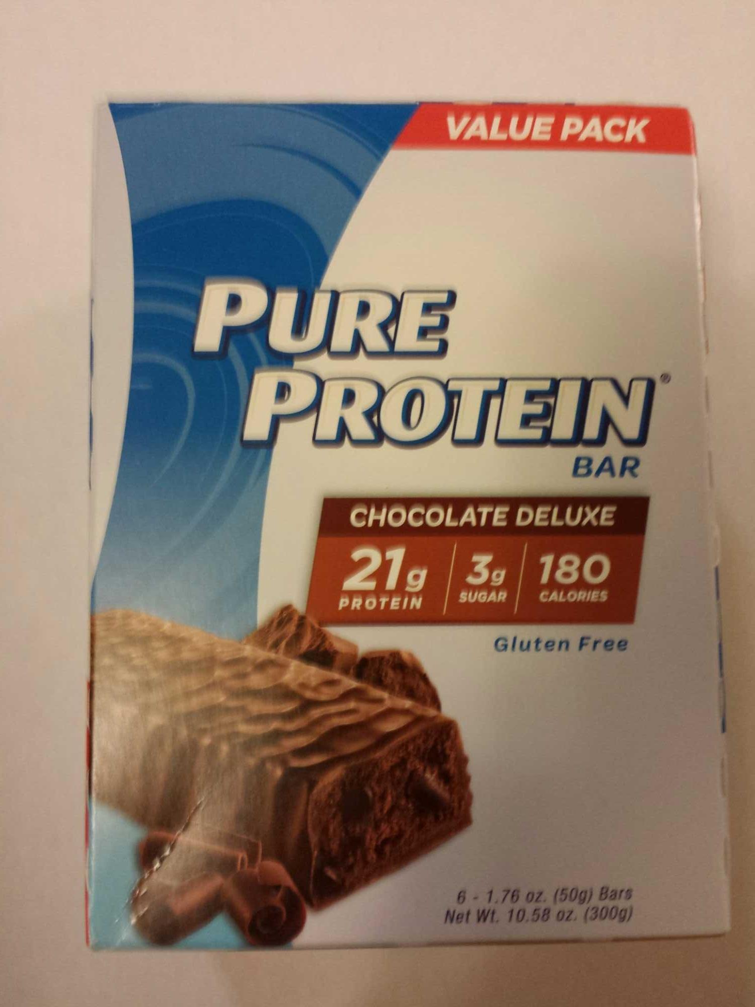 Chocolate deluxe bar, chocolate deluxe - Product - en