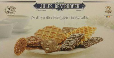 Authentic Belgian Biscuits - Produit - fr