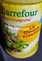 sauce vinaigrette à la moutarde à l'ancienne Carrefour - Product - fr