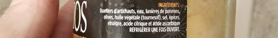 Salade d'artichauts - Ingrédients - fr