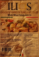 gnocchi de pommes de terre au blé entier - Product - fr