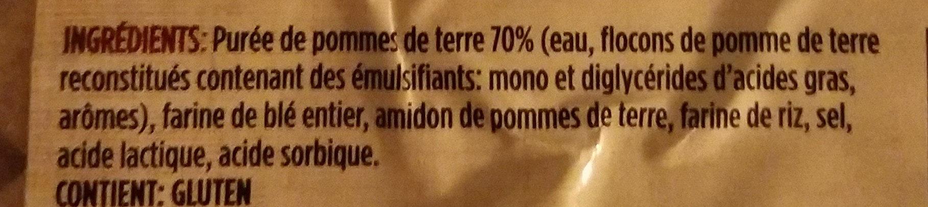 gnocchi de pommes de terre au blé entier - Ingrediënten - fr