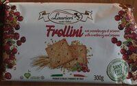 Frollini aux canneberges et sésame - Product - fr