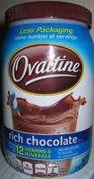 Ovaltine Rich Chocolate Mix - Product