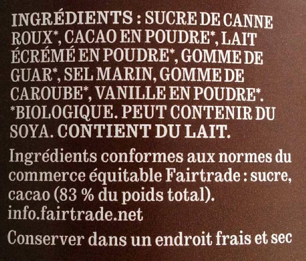 Noir classique - Ingredients - fr
