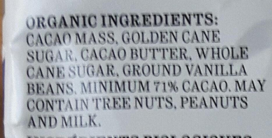 Bitersweet Noir - Ingredients - en