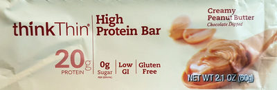 Protein Bar, Creamy Peanut Butter - Product