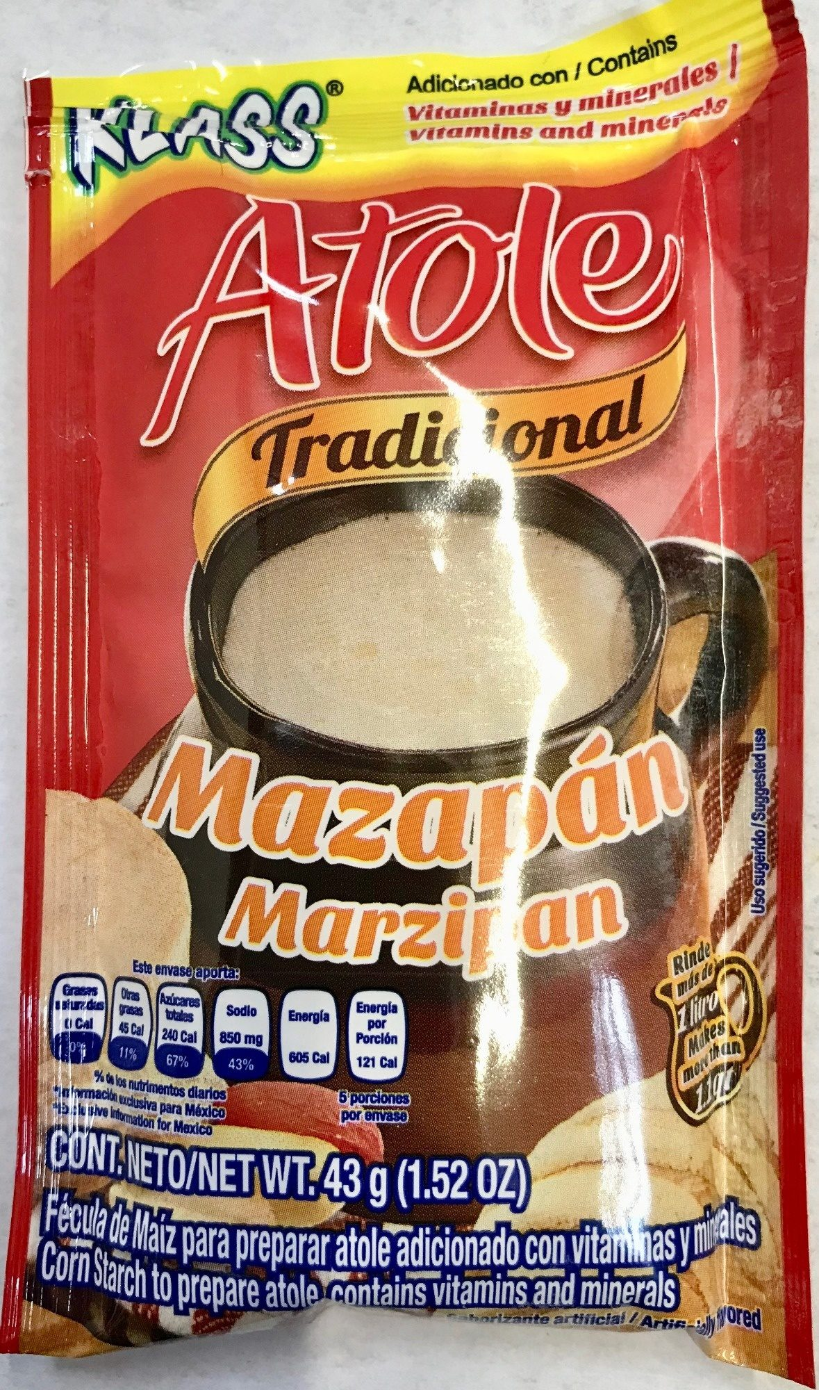 Fécula de maíz para preparar atole - Product - es