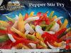 Tj farms select, pepper stir fry onions, red, green & yellow pepper stir fry - Produkt