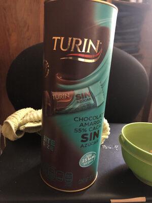 Chocolate amargo sin azúcar - Produit