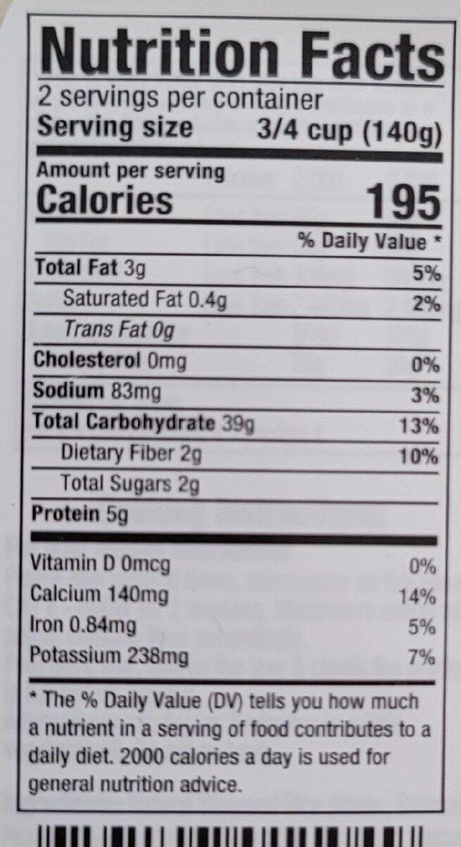 Veetee Rice & Tasty Basmati Rice - Nutrition facts - en
