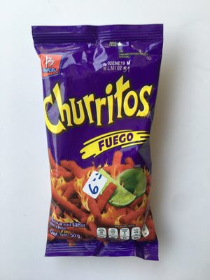 Churritos Fuego - Product - es