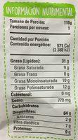 Snaps sabor Esquites - Voedingswaarden