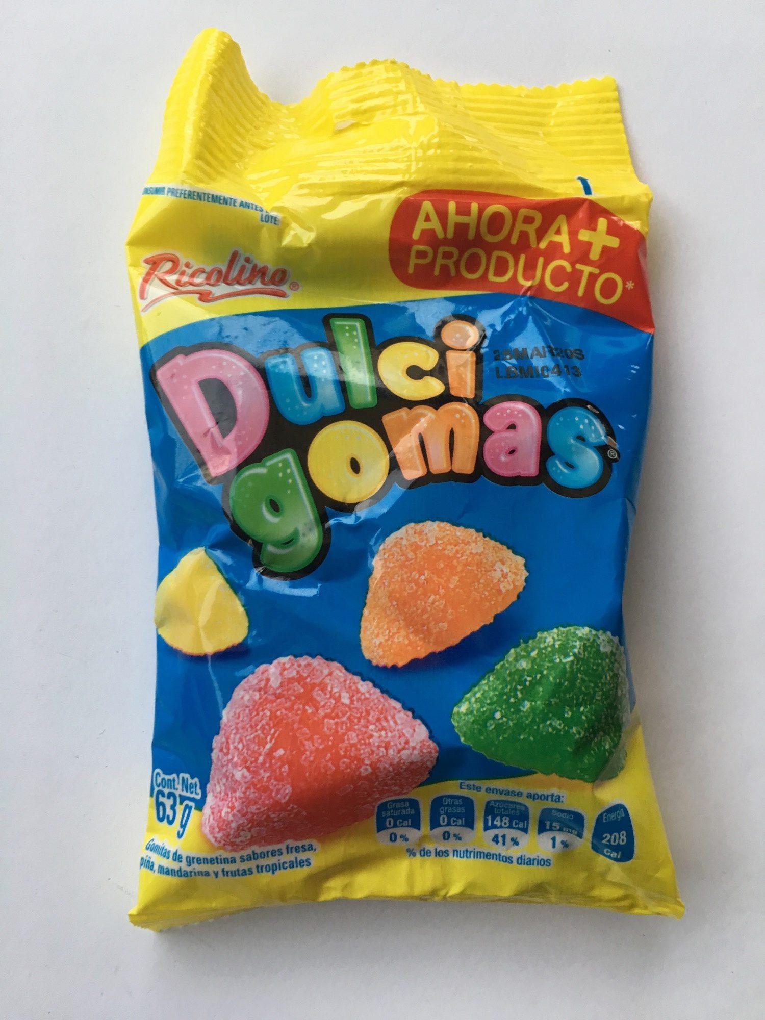 Dulcigomas Ricolino - Product