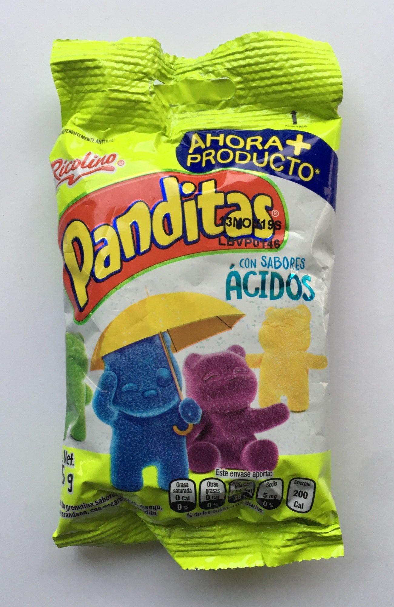 Panditas con sabores ácidos - Product