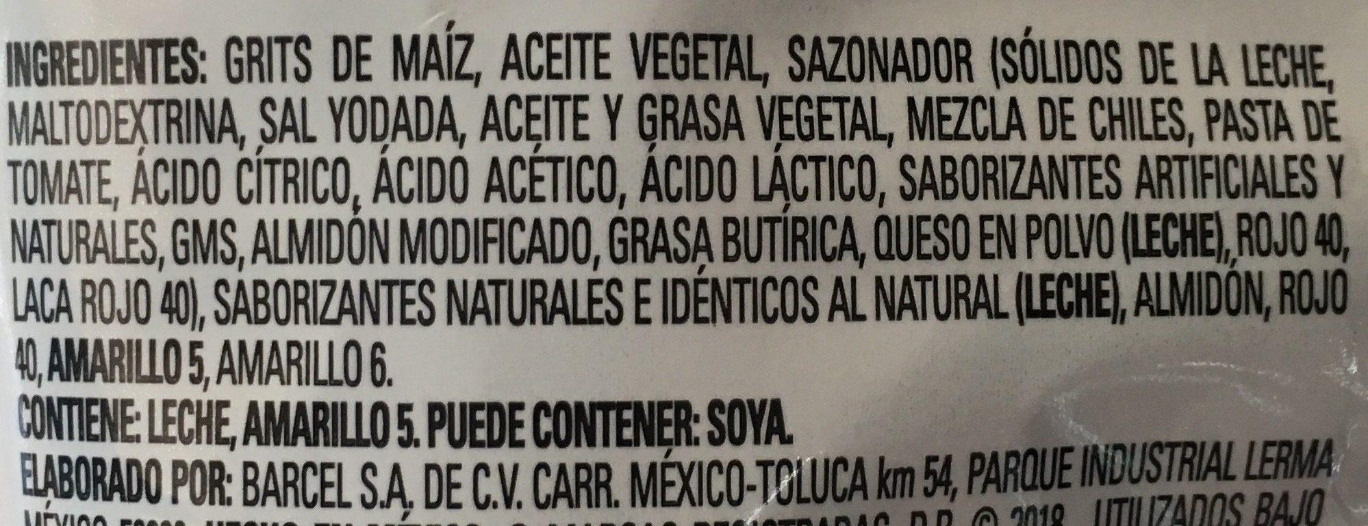 Watz Pokle - Ingredients - es