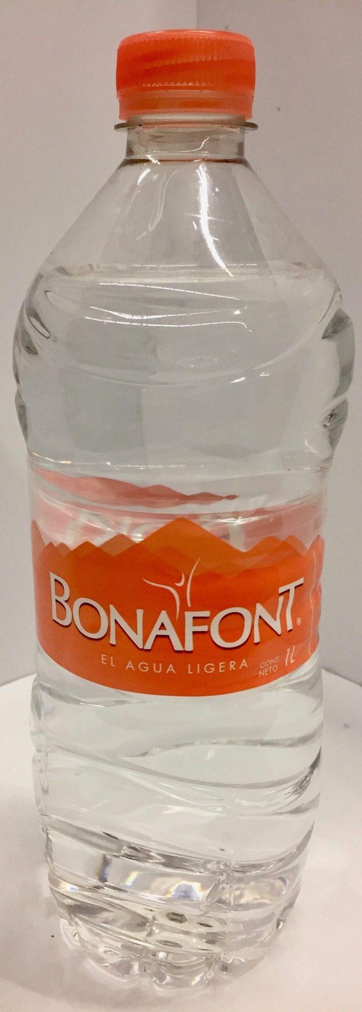 Agua Natural Bonafont - Ingredienti - es