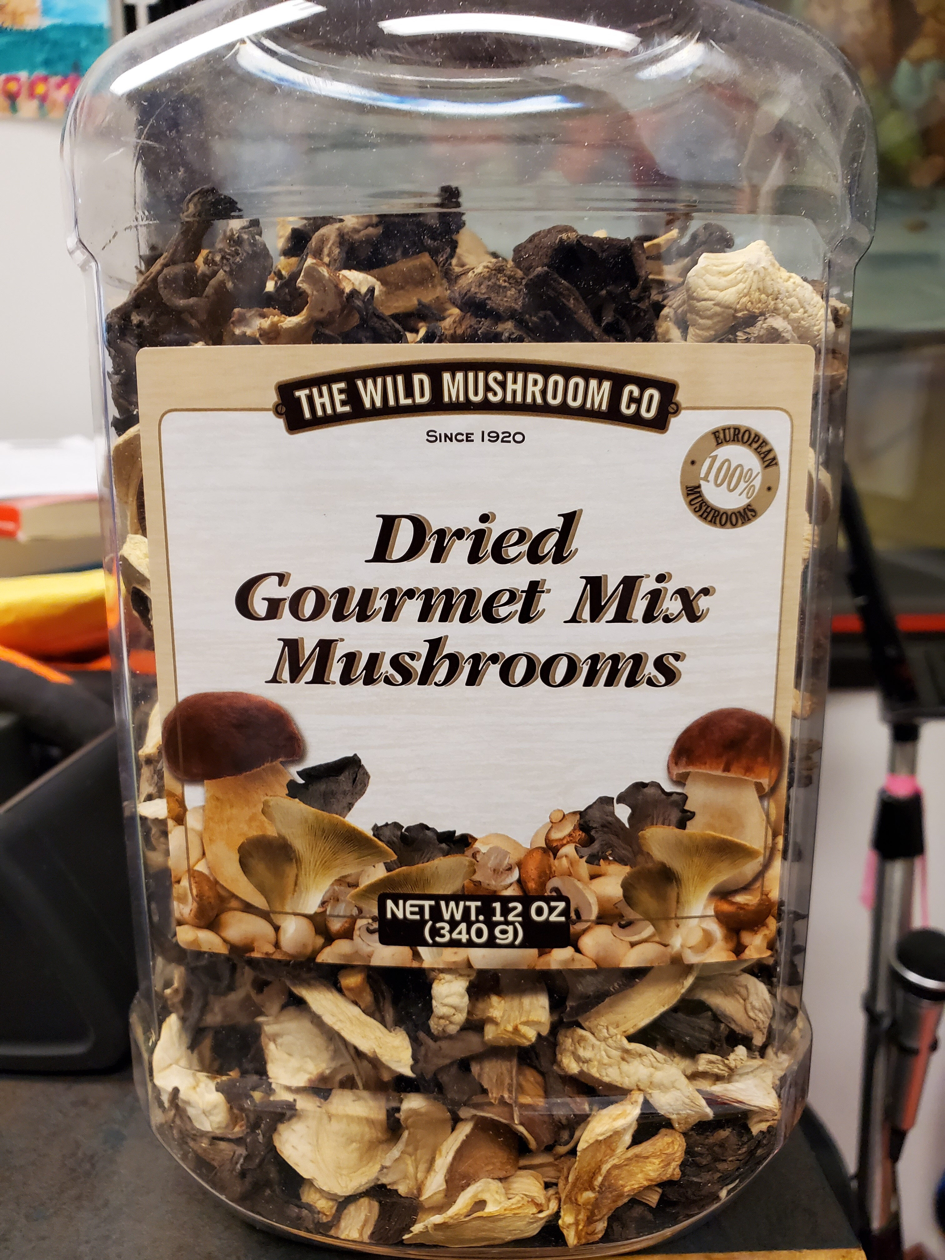 Dried Gourmet Mix Mushrooms - Product