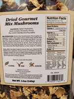 Dried Gourmet Mix Mushrooms - Ingredients