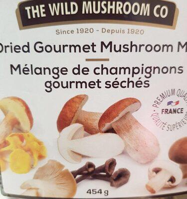 dried gourmet mushroom mix - Product - fr