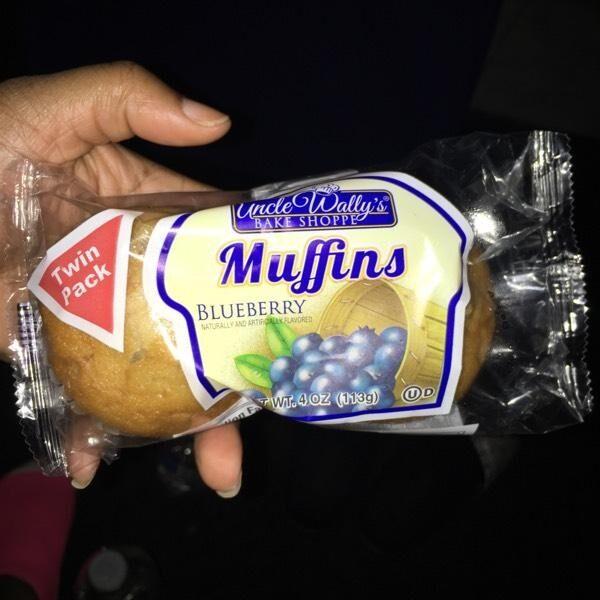 Blueberry muffins - Produit - en