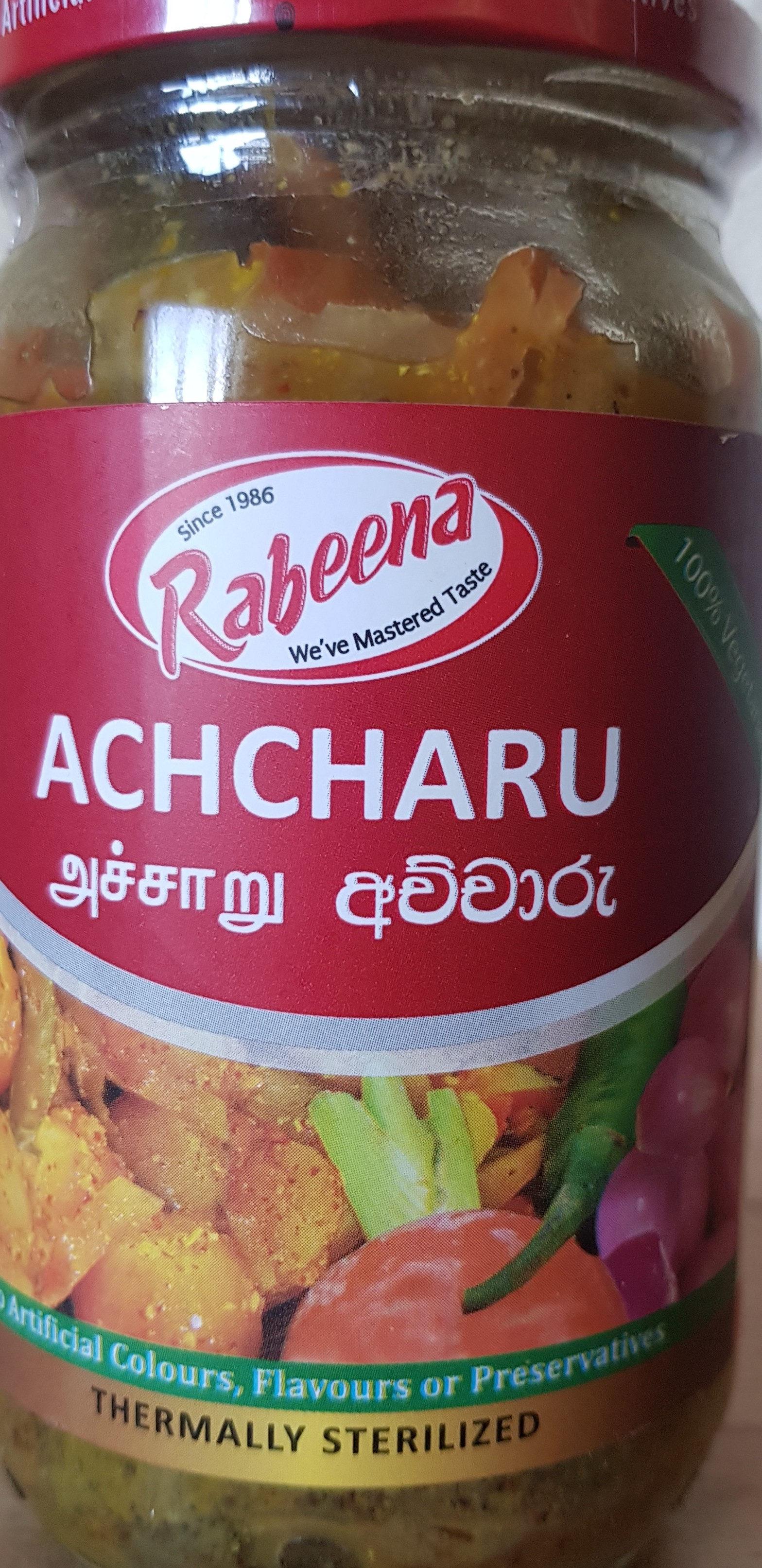 Achcharu - Produit